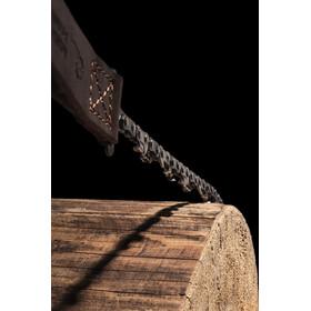 Nordic Pocket Saw Premium Pocket Saw Leather Version, bruin/zilver